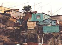 am Rande von Iquique